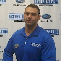 Christopher Greco at Lester Glenn Subaru