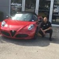 Alex Turner at Arrigo Fiat Alfa Romeo West Palm
