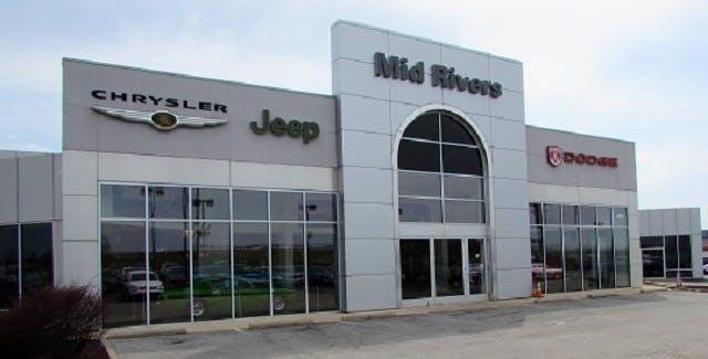 Napleton's Mid Rivers Chrysler Dodge Jeep Ram, St Peters, MO, 63376