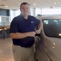 Matt Hall at Kent County Motors