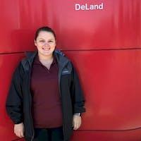 Katelyn Hallman at DeLand Nissan
