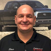 Steve  Robinson at Daytona Toyota