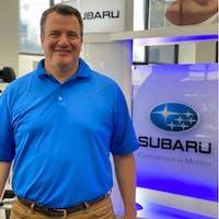 Greg Bourgeois at Bryan Subaru