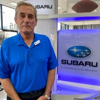 Rex Bubacz at Bryan Subaru
