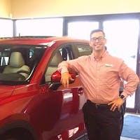 Paul Thrasher at Pearson Mazda