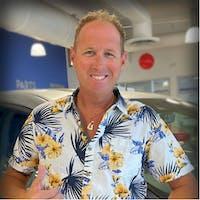 Justin Schmotter at Island Honda