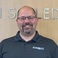 Mike Huberty at Eric Von Schledorn Ford