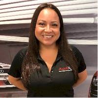 Aylin Reyes at Audi Fort Lauderdale