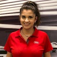 Marcela  Villacres at Audi Fort Lauderdale