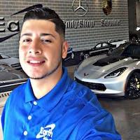 Daniel Ibarra at Earth MotorCars