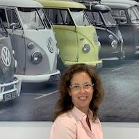Melanie Zoelck at Northampton Volkswagen