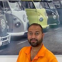 Omar Ali at Northampton Volkswagen