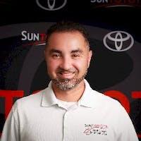 Edy Salguero at Sun Toyota