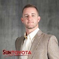 Ben Carriere at Sun Toyota