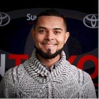 Carlos Rivera at Sun Toyota