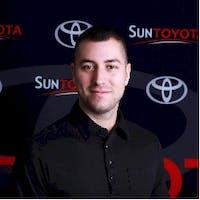 Nicholas Nardello at Sun Toyota