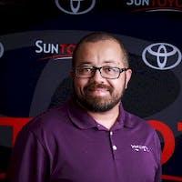Mario Ruiz at Sun Toyota
