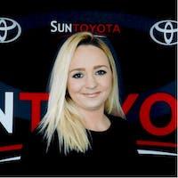 Julia Harris at Sun Toyota