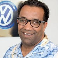 Said Raouz at Leith Volkswagen of Raleigh