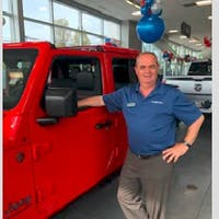 Tony Moreira at Colonial South Chrysler Jeep Dodge