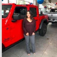 Courtney Mulcahy at Colonial South Chrysler Jeep Dodge