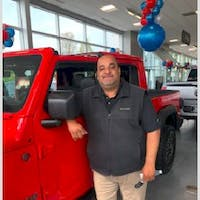 Javier  Cortez  at Colonial South Chrysler Jeep Dodge