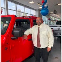 Jayson Viera  at Colonial South Chrysler Jeep Dodge