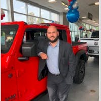 Ben  Fasano Jr  at Colonial South Chrysler Jeep Dodge