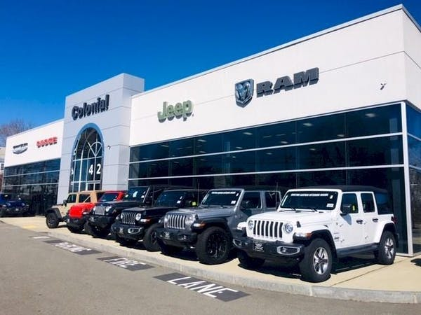 Colonial South Chrysler Jeep Dodge RAM, North Dartmouth, MA, 02747
