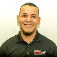 Hector Lopez at Don Mealey Sport Mitsubishi