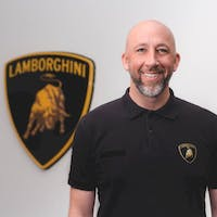 Tom Prawdzik at Lamborghini Palm Beach