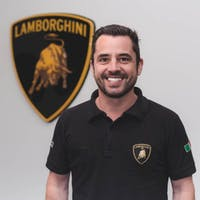 Wayne Saunders at Lamborghini Palm Beach