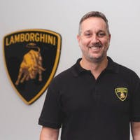 Ken Milordis at Lamborghini Palm Beach