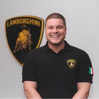 Brian Silverman  at Lamborghini Palm Beach