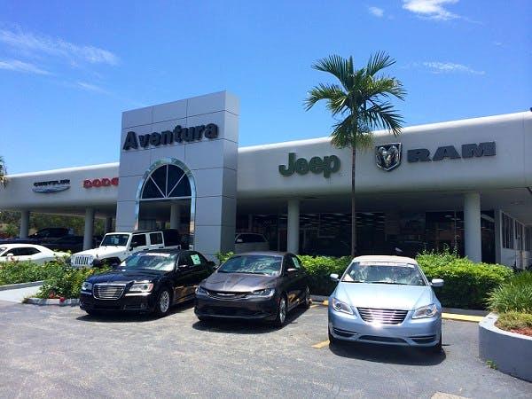 Aventura Chrysler Jeep Dodge Ram, North Miami Beach, FL, 33162