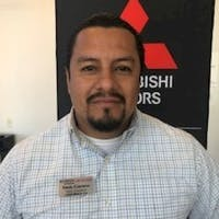 Fredy Carreno at Brandon Mitsubishi