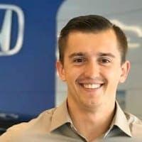 Viktor Tiutiunnyk at Ide Honda