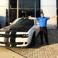 John Gilbert at Hendrick Chrysler Dodge Jeep RAM Hoover