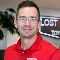 Adam Layfield at Lost Pines Toyota