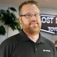 Chad Julius at Lost Pines Toyota - Service Center