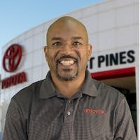 Damien Winston at Lost Pines Toyota
