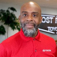 Quince  R. Brown Sr. at Lost Pines Toyota
