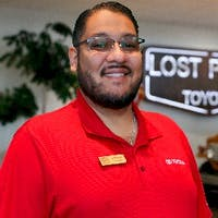 Jesse  Torres at Lost Pines Toyota
