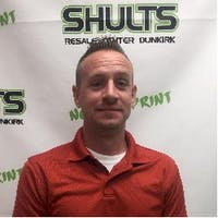 Matthew Turner at Shults Resale Center of Dunkirk