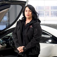 Venetia Omiridis at Atlanta Autos