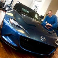 Bob Greig at Mazda of Gladstone