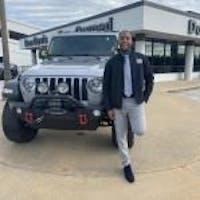 Jamontez Ridley at Don Davis Dodge Chrysler Jeep