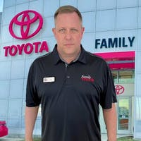 Cory Harrelson at Family Toyota of Arlington
