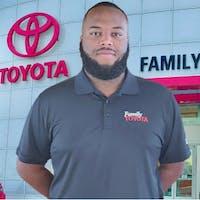 Eddie Johnson at Family Toyota of Arlington