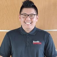 Richard Bui at Family Toyota of Arlington